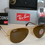 Ray Ban AVIATOR RB3025 001/57 Polarized 58mm