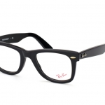 Ray Ban RB RX 5121 Black 2000 Wayfarer Eyeglasses 50mm