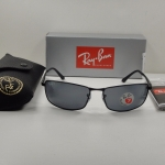 Ray Ban RB3498 006/81 Black frame Gray lens Polarized