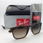 Ray Ban Chris RB4187 622/8G Havena Frame/Brown Gradient Lens