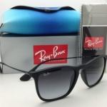 Ray Ban Chris RB4187 622/8G Black Frame/Gray Gradient Lens