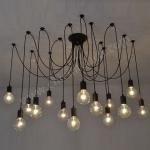 โคมไฟติดเพดาน รุ่น 14 Bulb Chandelier (C0814)