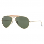 Ray Ban RB3407 001 Outdoorsman II