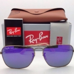 Ray Ban RB3136 167/1M Purple mirror