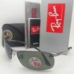 Ray Ban RB3183 004/9A 63mm Polarized Gunmetal