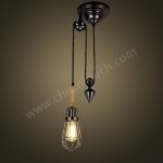 โคมไฟ Loft Style รุ่น C29 ฟรีหลอด LED (รุ่น T45-RDS-SF)