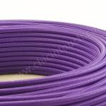 สายไฟวินเทจถัก สีม่วง(Violet)