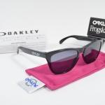 OAKLEY FROGSKINS OO9013 24-306 POLISHED Black Grey