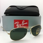 Ray-Ban Cockpit RB3362 001 Gold G-15 56/59mm