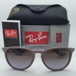 Ray-Ban RB4171 6000/68 Erika Sand Frame w/ Brown Gradient Violet