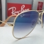 Ray Ban RB3025 001/3f Aviator Blue Gradient 58 mm thumbnail 7