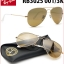 Ray Ban RB3025 001/3K ฺBrown gold 58mm thumbnail 1
