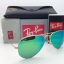 Ray Ban RB3025 112/19 Aviator Gold frame Green Mirror 58mm thumbnail 2