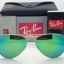 Ray Ban RB3025 112/19 Aviator Gold frame Green Mirror 58mm thumbnail 3