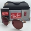 Ray Ban ROUND METAL RB3447 167/2K Demi Gloss Brown / Pink-Violet thumbnail 3