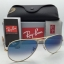 Ray Ban RB3025 001/3f Aviator Blue Gradient 58 mm thumbnail 1