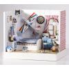 บ้านตุ๊กตาจิ๋ว little boy bedroom - ห้องเด็กผู้ชายนักบิน