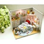 DIY princess room dollhouse - ห้องนอนเจ้าหญิงแสนสวย โทนสีพาสเทลสะอาดตา