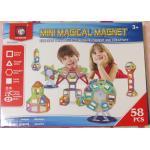 ตัวต่อแม่เหล็กเสริมปัญญา 58 ชิ้น (Magical Magnet)