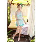 บิกินี่ Bikini-Fairy Daisy (ฺBlue) size XL