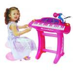 Electronic Keyboard อัดเสียงได้ สีขมพู ...จัดส่งฟรี
