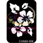 หมวดแบบลายดอกชบา CHABA