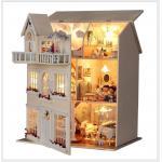 DIY Fairy homes Exclusive Ultimate Edition ..คฤหาสหลังใหญ่ 3 ชั้น ตกแต่งสวยงาม