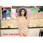 บิกินี่ Bikini-Fairy Sweet Lace (SoftPink) size L
