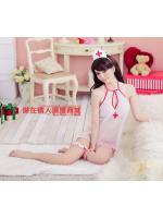 ชุดพยาบาล ผ้าชีฟอง NU-006
