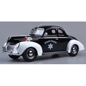 Pre Order โมเดลรถ Ford 1939 รถตำรวจ 1:18 รุ่นหายากสุดๆ มีโปรโมชั่น