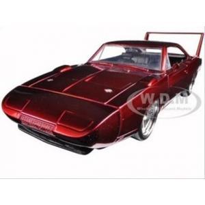 พรีออเดอร์ รถเหล็ก รถโมเดล US 1969 DODGE CHARGER DAYTONA FAST & FURIOUS 7 สีแดง สเกล 1:24