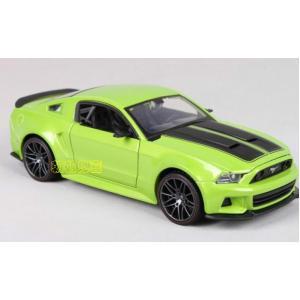 พร้อมส่ง โมเดลรถเหล็ก Ford Mustang Street Racer ปี 2014 สเกล 1:24 มีโปรโมชั่น