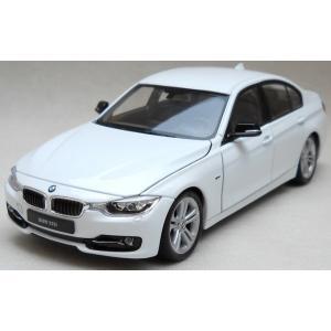 พร้อมส่ง โมเดลรถเหล็ก โมเดลรถยนต์ BMW 335i 1:24 สเกล สีขาว มี โปรโมชั่น