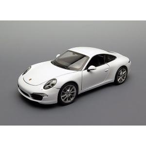 ขาย พรีออเดอร์ โมเดลรถเหล็ก โมเดลรถยนต์ Porsche Carrera S 911 1:24 สเกล ขาว มี โปรโมชั่น