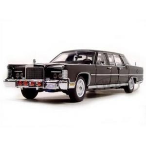 พรีออเดอร์ รถเหล็ก รถโมเดล US 1972 LINCOLN CONTINENTAL REAGAN LIMOUSINE สเกล 1:24