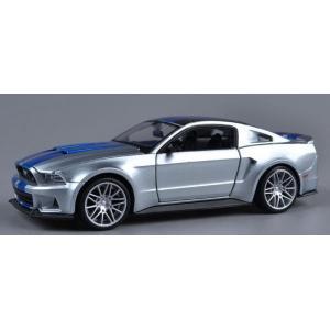 พร้อมส่ง โมเดลรถเหล็ก โมเดลรถยนต์ 2014 Ford Mustang Need For Speed 1:24