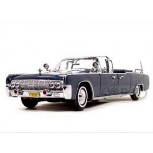 พรีออเดอร์ รถเหล็ก รถโมเดล US 1961 LINCOLN X-100 KENNEDY LIMOUSINE สเกล 1:24