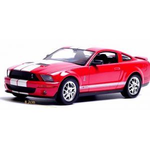พรีออเดอร์ โมเดลรถเหล็ก โมเดลรถยนต์ Ford Mustang Cobra แดง 1:24 มีโปรโมชั่น