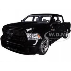 พรีออเดอร์ รถเหล็ก รถโมเดล รถกระบะ US 2014 DODGE RAM 1500 CUSTOM EDITION สีดำ Jada สเกล 1:24