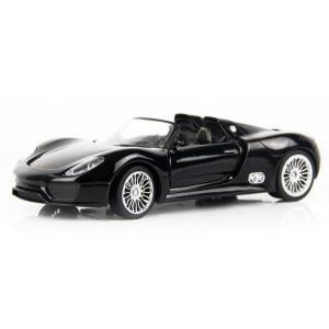 ขาย พรีออเดอร์ โมเดลรถเหล็ก โมเดลรถยนต์ Porsche 918 spyder ดำ สเกลล 1:24 มี โปรโมชั่น
