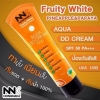 NNK Fruity White สีส้ม DD Cream SPF50 PA+ ดีดีครีมน้องนะคะ