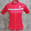 เสื้อปั่นจักรยานผู้หญิงแขนสั้นทีม Sportful เสื้อปั่นจักรยาน 332