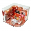 wooden doll house 3D puzzle ห้องครัว