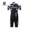 ชุดปั่นจักรยานแขนสั้นทีม Cannondale เสื้อปั่นจักรยาน กับ กางเกงปั่นจักรยาน สีดำ 166