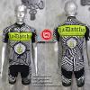 ชุดปั่นจักรยานแขนสั้นทีม Think Off 2016 เสื้อปั่นจักรยาน กับ กางเกงปั่นจักรยาน สีดำ 310