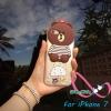 เคสไอโฟน7 case iPhone7 TPUหมี