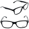 Ray Ban RB RX 5228 2000 Black Eyeglasses 50mm
