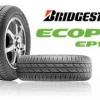 BRIDGESTONE ECOPIA EP100 215/55-17 เส้น 3500 บาท