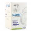 ( แพค 6 กล่อง ) แผ่นซับน้ำนมเนเจอร์-Natur (แบบกระชับ) 50 ชิ้น