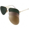 Ray Ban Flip Out Aviator RB3460 001/71 59mm Gold Frame 3 Lens เปลี่ยนเลนส์ได้